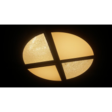 Светодиодный светильник круглый потолочный 64Вт, диаметр 50см. Четыре положения света (теплый, белый, холодный, ночник приглушенный). Пульт ДУ в комплекте.
