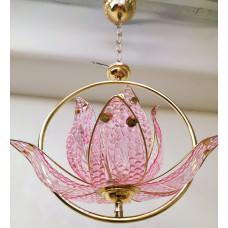 Люстра 1091-1 розовая