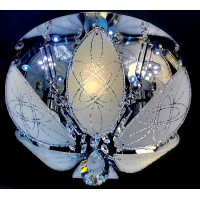 Люстра Буше 1490-3+3(LED) 30