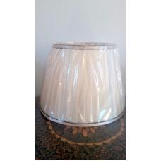 Абажур к большой настольной лампе 15-19 кремовый