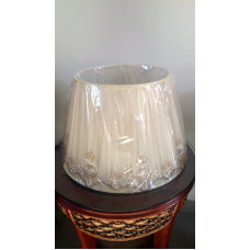 Абажур к большой настольной лампе 15-27 ваниль