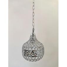 Люстра 1537-1Н серебро