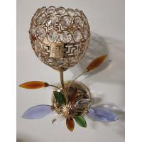Бра 2815-1 хрустальный плафон золото