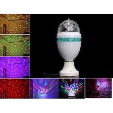 Лампа светодиодная, вращающаяся Е27 3W LED