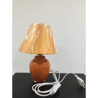 Настольная лампа 3002 светло коричневая