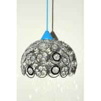 Светильник подвесной хрустальный 306 хром