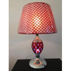 Настольная лампа 3074 красная