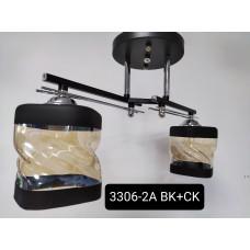 Люстра 3306-2А ВК+СК