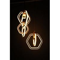 Люстра светодиодная на регулируемых подвесах 135ВТ  4447-3Н