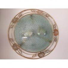 Потолочно-настенный светильник 48313-2 голубой. Лампы в подарок!