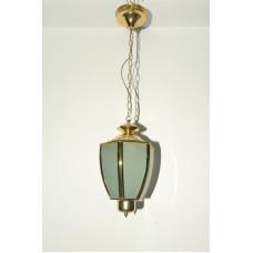 Светильник подвесной-фонарик 617-P-RAD золото