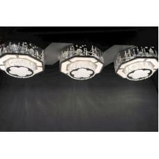 Люстра светодиодная на регулируемых подвесах 90ВТ  6906-3