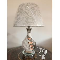 Настольная лампа 9210 серебро