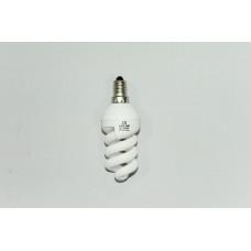 7W E-14 холодный свет лампа энергосберегающая