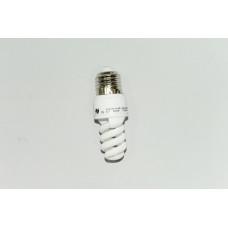 9W E-27 теплый свет лампа энергосберегающая