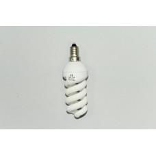 15W E-14 холодный свет лампа энергосберегающая