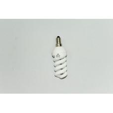 13W  E-14 холодный свет энергосберегающая лампа
