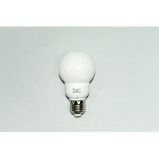 Круглая белая энергосберегающая лампа 9W E-27