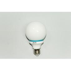 Круглая белая энергосберегающая лампа 11W E-27