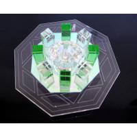 Светильник встроенный со светодиодной подсветкой 1078