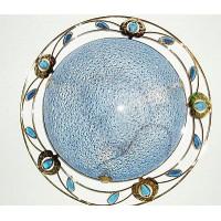 Настенно-потолочный -тарелка 48313/2В бел/син/роз/кор