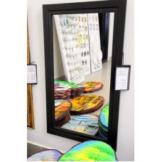 Зеркало в багете ЗБ6(600*350)