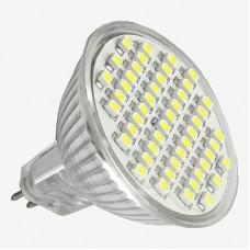 Лампа LED 220V MR16 G5.3 60  4W 6500 K