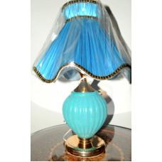 Настольная лампа 55см  3275 ГОЛУБ