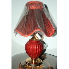Настольная лампа 3275 красная
