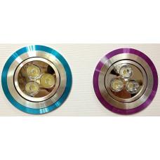 Точечный светильник 2057GX CD 3*1W