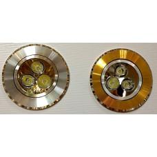 Точечный светильник 2039GX CD 3*1W 14