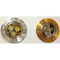 Точечный светильник 2056GX CD 3*1W