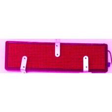 Светодиодный щит для автомобиля 12V размер 96-384